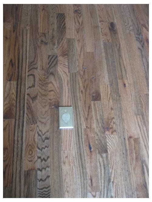 Floor Outlet Tripping Hazard