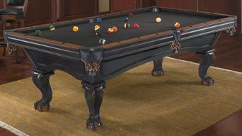 Pool tables in homes
