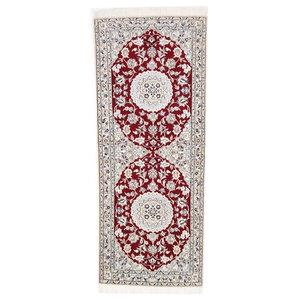 Nain 9La Oriental Rug, Hand-Knotted, 200x80 cm