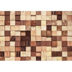Lumbercheck Industrial Wooden Effect Photo Wall Mural, 368x254 cm
