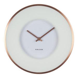 Karlsson Illusion Wall Clock, White