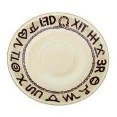 """Boots and Brands Western China Plates, 6"""" Saucer"""