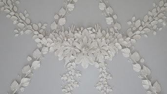 Decorative Plasterwork Ceiling, Jupiter Artland, Edinburgh