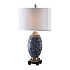 Uttermost Latah Lamp, Blue