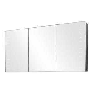 Aletha Ambient Light Demisting Bathroom Cabinet, Built-In Speakers