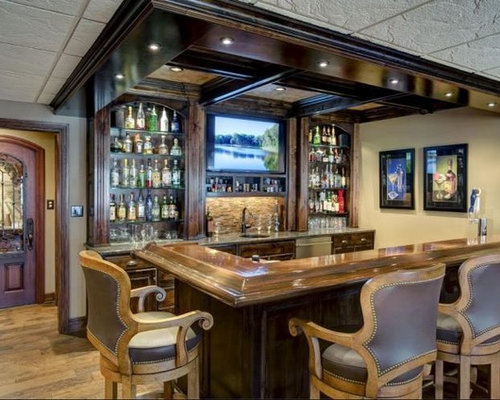 Back Bar Shelving | Houzz