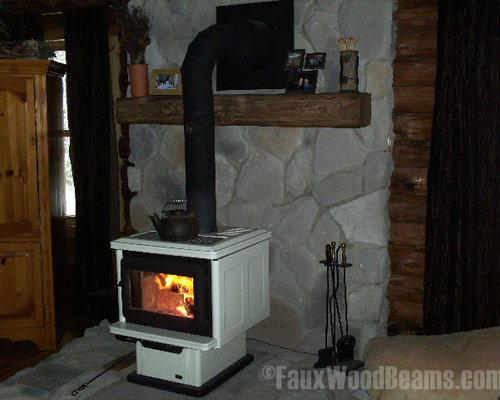 Fireplace Mantels Faux Wood