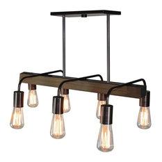 Lynwood 6-Light Bronze Island Light