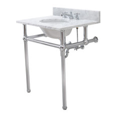 """Embassy 30"""" Wash Stand, P-Trap, and Counter Top With Basin"""