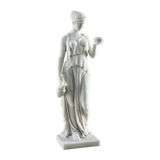 Hebe the Goddess of Youth Bonded Marble Resin Statue