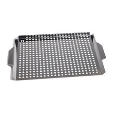 "OUTSET - Grill Grid With Handles, 17""x11"" - Grill Tools & Accessories"