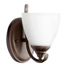 Quorum Powell 1-Light Wall Mount, Oiled Bronze