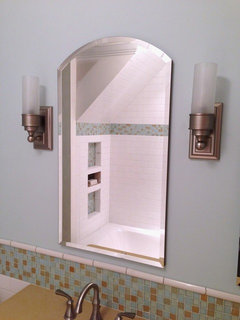 Bath Sconces With Shades can you really get *good* light from sconces with shadesvanity?