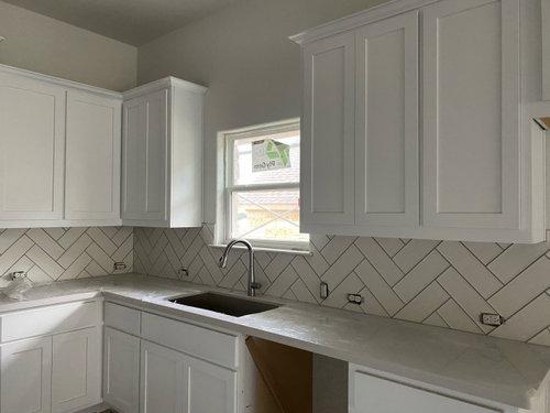 Where To End Kitchen Backsplash On Window With Bullnose Corner