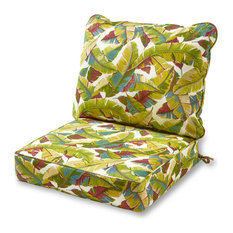 Outdoor 2-Piece Deep Seat Cushion Set, Palm Multi