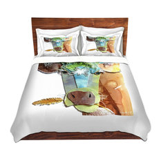 Dianoche Designs Cow Twill Duvet Cover King Without Shams Covers And