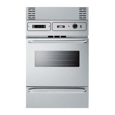24 inch gas wall oven in stainless steel TTM7882BKW