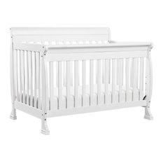 Kalani 4-In-1 Convertible Crib, White
