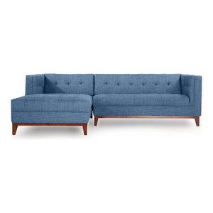 Amazing Woodrow Modern Box Sofa Sectional Midcentury Sectional Ibusinesslaw Wood Chair Design Ideas Ibusinesslaworg