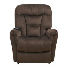 Anderson Lift Chair, Dark Serengeti Brown