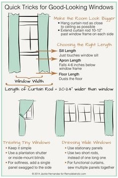 I Am Not A Curtain Hanging Expert But This Picture Might Help