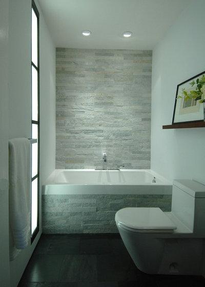 Contemporary Bathroom by Mark Brand Architecture. Bathroom Tile  Loving the Look of Ledgestone