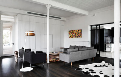 Houzz Tour: A Heritage-Listed Home's Monochrome Makeover