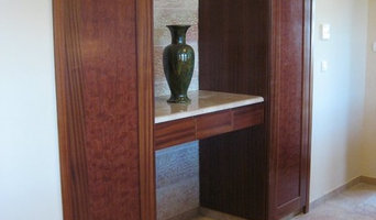 arched cabinets