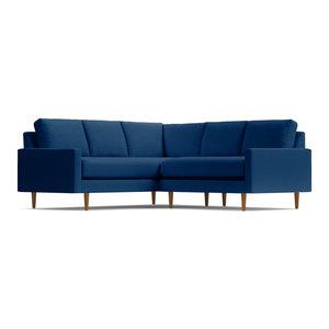 Scott 2-Piece L-Sectional Sofa, Blueberry