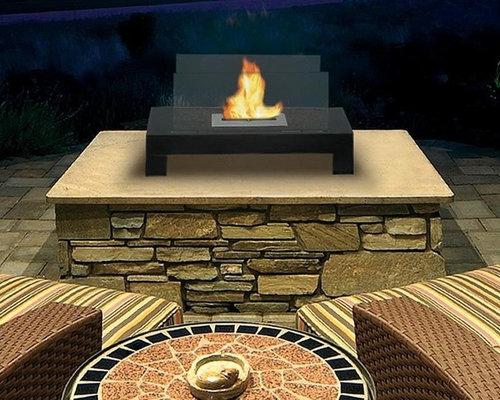 Gramercy Floor/Tabletop Biofuel Fireplace   Tabletop Fireplaces