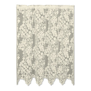 Seacoast Tier Beach Style Valances By Heritage Lace