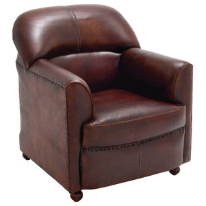 Radford Swivel Chair Black Contemporary Armchairs And