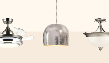 Up to 75% Off Ceiling Lighting and Fans