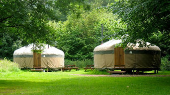 Yurts in the stunning Langdale Valley, Lake District