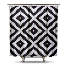 50 Most Popular Geometric Shower Curtains For 2018