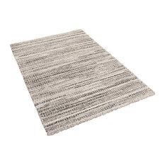 Mehari Rectangle Modern Rug, 80x150 cm