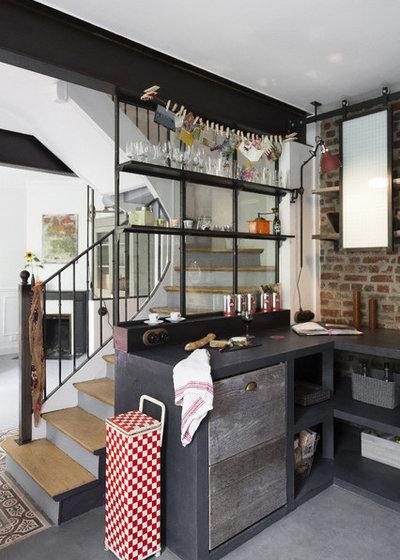 R novation comment installer une verri re atelier dans - Cuisine style atelier industriel ...