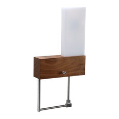 Cubo LED Wall Sconce Reading Light, Installation: Hardwired, Orientation: Right