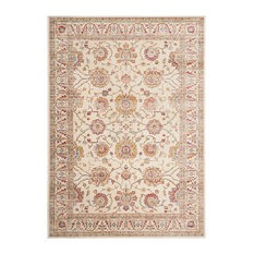 Carolyn Area Rug, Ivory and Multicolour, 160x230 cm