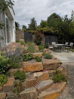 Garten Vorher - Nachher