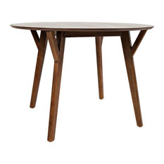 Copenhagen Round Dining Table Natural