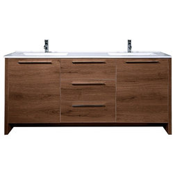 Transitional Bathroom Vanities And Sink Consoles by Bagnotti USA