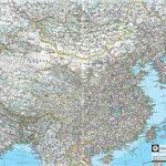 Magic Murals - Map of China Wallpaper Wall Mural, Self-Adhesive - Map of China Wall Mural