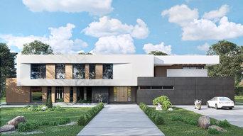 Проект индивидуального жилого дома. КП Миллениум Парк