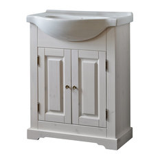 1st avenue rochefort 2 door bathroom vanity natural wood 2559