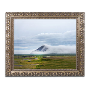 Philippe Sainte Laudy Torn Mountains Ornate Framed Art Traditional Prints And Posters By Trademark Global
