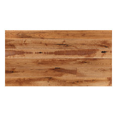 "5.91""x82.68"" Engineered Hardwood Flooring-European Oak, Set of 8, Golden"