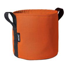 Bacsac Round Plant Pot Batyline Squash Orange Indoor Pots And
