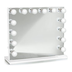 Hollywood LED Mirror With Base (Table Mount or Wall Mount)  Studio-quality light