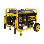 4750-Watt Generator With Electric Start and Wheel Kit